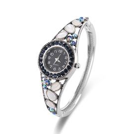Ericdress Vintage Style Round Case Colorful Rhinestone Watch