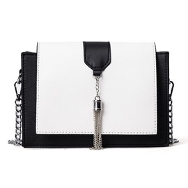 Ericdress Stylish Patchwork Chain Crossbody Bag