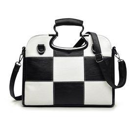 Ericdress Classical Plaid Pattern Women Handbag