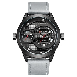 Ericdress Two-Movement Dual Time Trendy Men's Watch