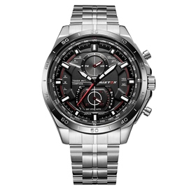 Ericdress Stainless Steel Case Quartz Watch for Men