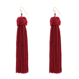 Ericdress Alluring Best Seller Bohemia Hand Knitting Earring