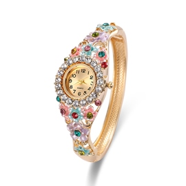 Ericdress Royal Style Colorful Rhinestone Women's Watch