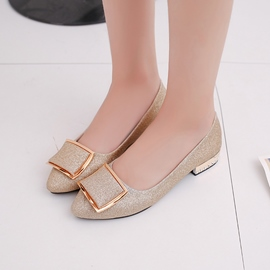 Ericdress Glitter Slip-On Low-Cut Flats