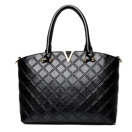 Ericdress Simple Quilted Lining Women Handbag