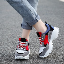 Ericdress Color Block Letter Women's Athletic Shoes