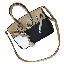 Ericdress Casual Color Block PU Handbag