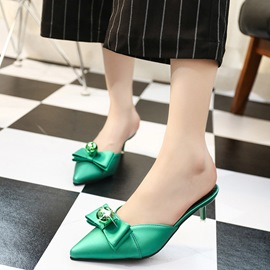 Ericdress Fashion Closed Toe Plain Women's Mules Shoes