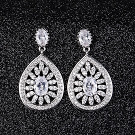 Ericdress High End Luxurious Waterdrop Women's Earring