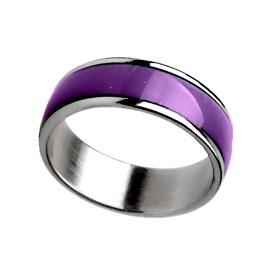 Ericdress Titanium Steel Women's Mood Ring