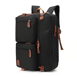 Ericdress Plain Nylon Backpack Laptop Bags