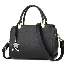 Ericdress Simple Five-Pointed Star Pendant Handbag