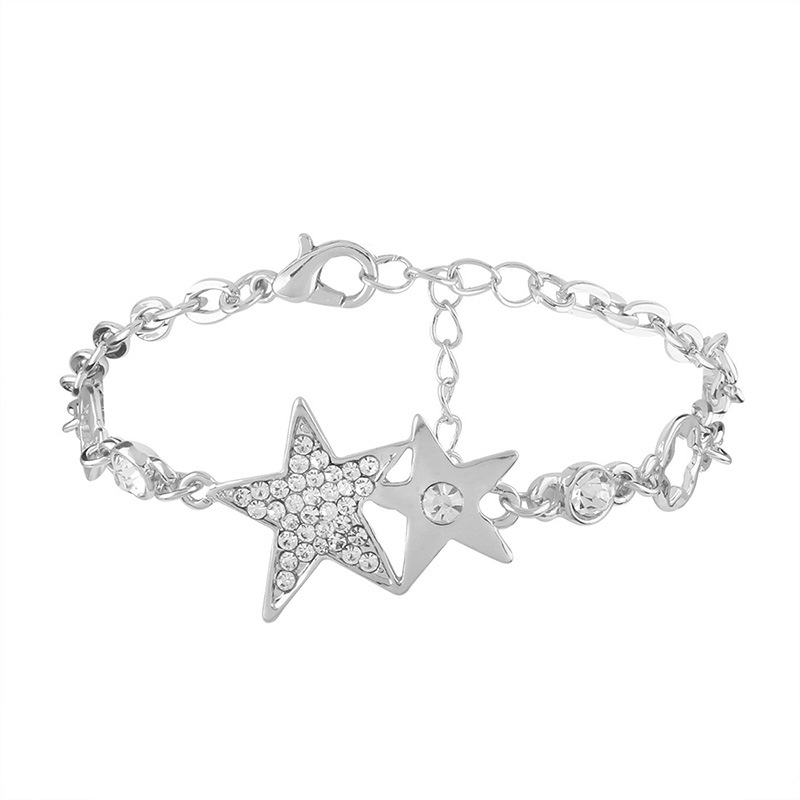 Ericdress Romantic Diamante Star All Match Bracelet for Women