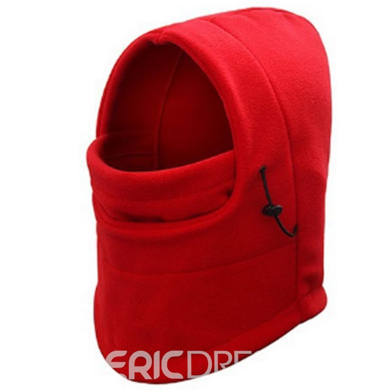 Ericdress Men Outdoor Polar Fleece Warm Hat