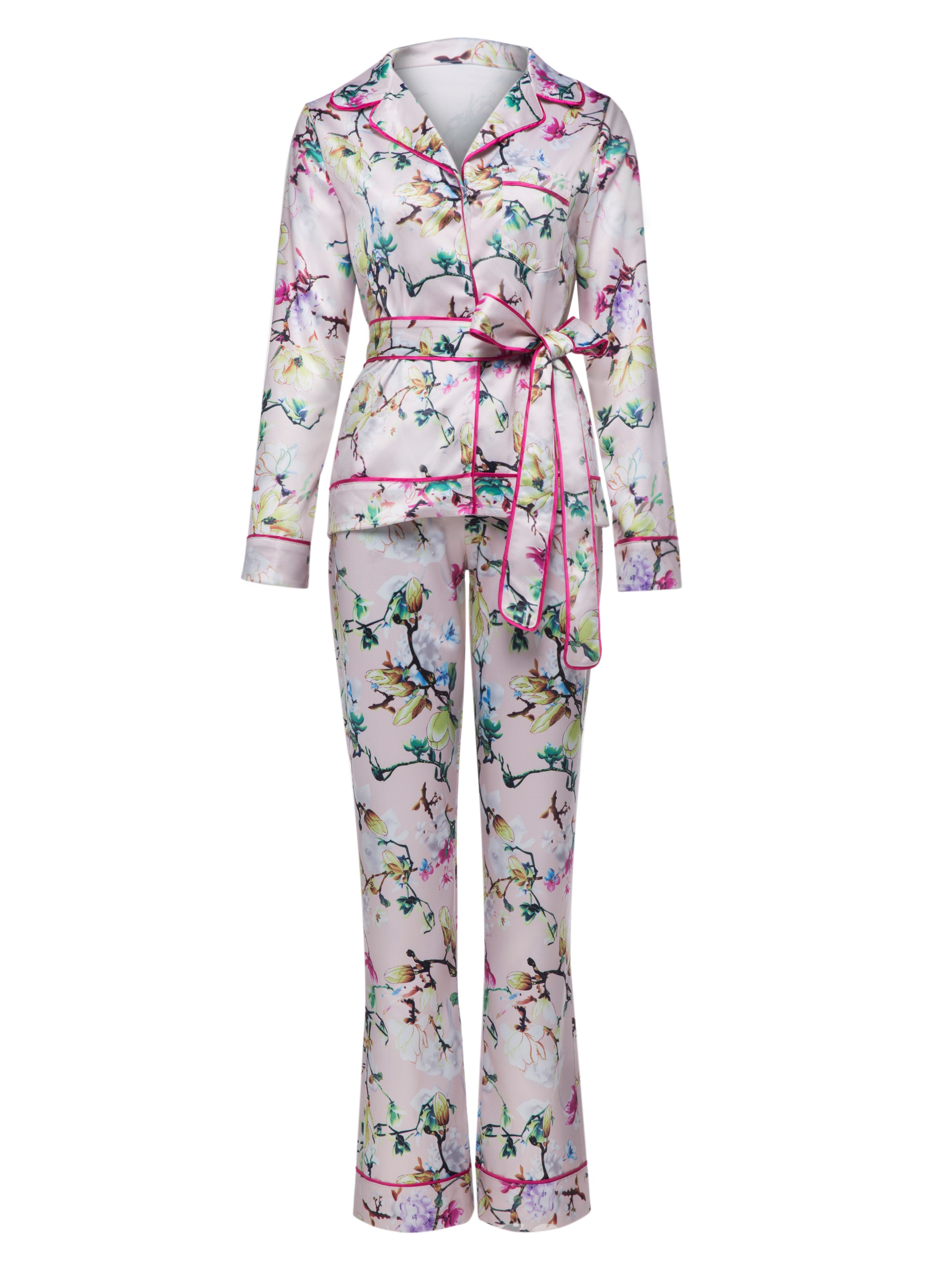 Ericdress Notched Lapel Floral Print Jacket