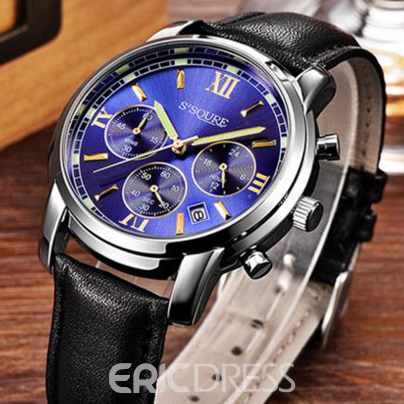 Ericdress JYY Charming Multifunctional Dial Plate Men's Watch
