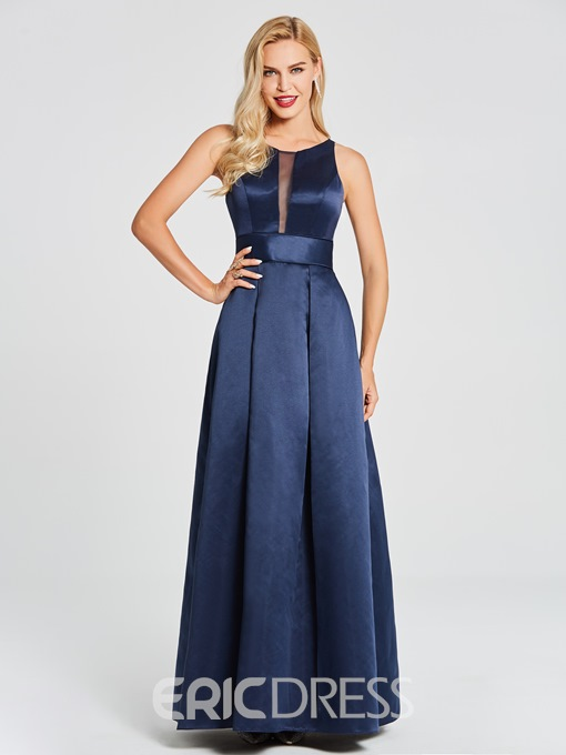 Ericdress Scoop A Line Long Mother Of The Bride Dress With Jacket