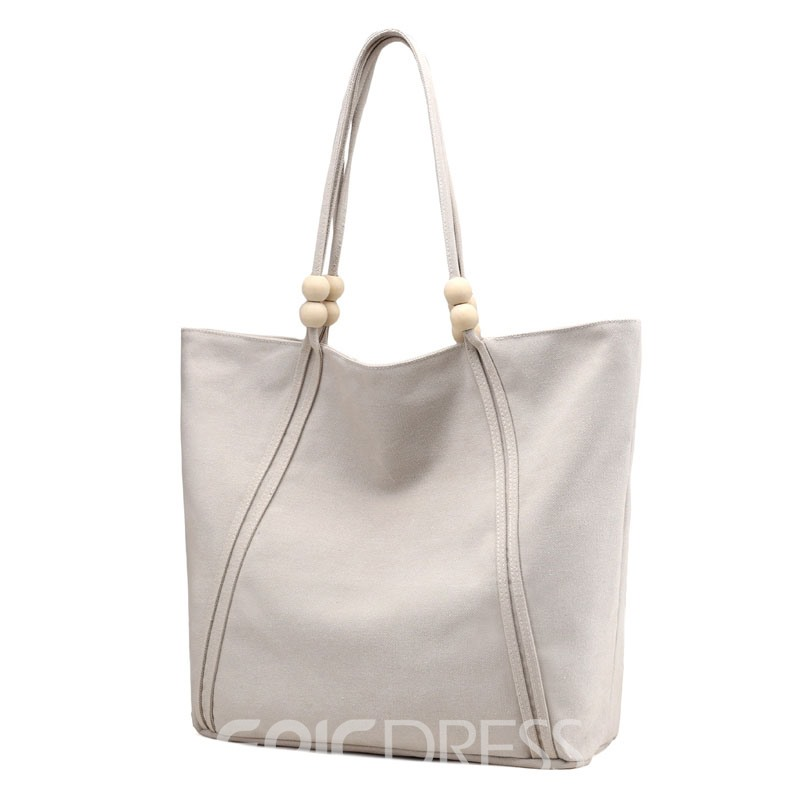 Ericdress Large Capacity Canvas Handbag