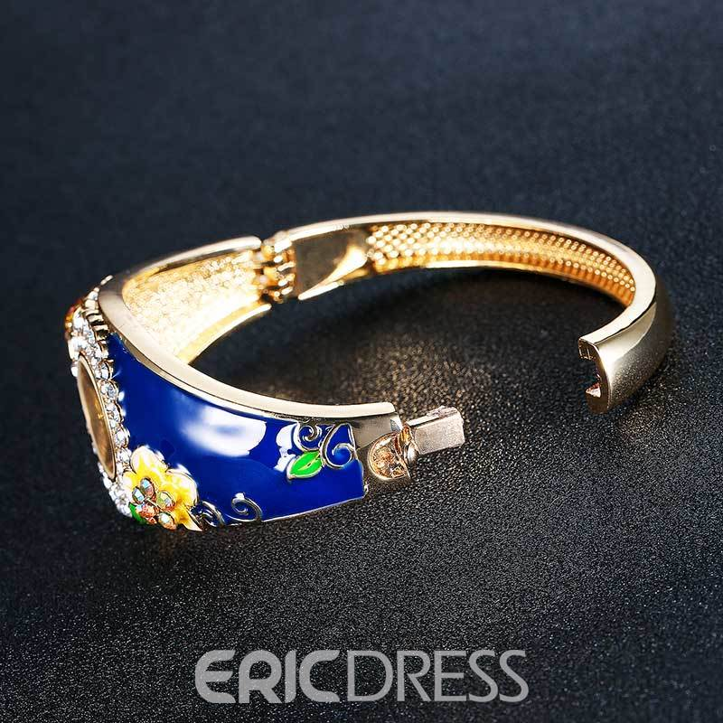 Ericdress High Quality Flower Decorated Fabulous Watch