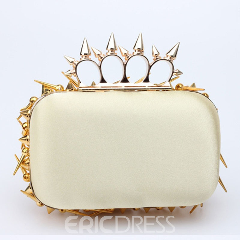 Ericdress Personality Rivet Decoration Crossbody Bag