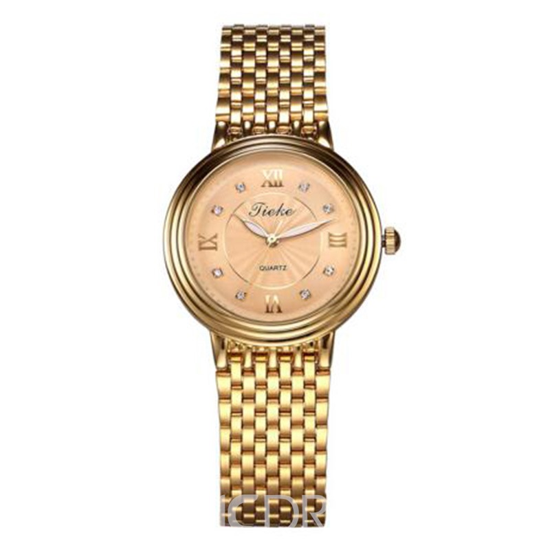 Ericdress Classic Fully-Jewelled Women's Watch