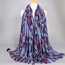 Ericdress European Style Cotton Tassl Spring & Autumn Thicken Scarf