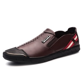 Ericdress Comfortable Stripe Color Block Men's Loafers