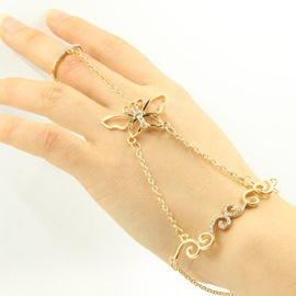 Ericdress Shinning Butterfly Women's Bracelet