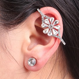 Ericdress Attractive Diamante Allergy Free Ear Cuff