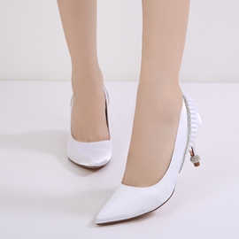 Ericdress Diamond Slip-On Plain Women's Wedding Shoes