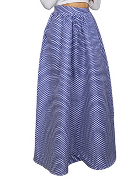 Ericdress Floor-Length Polka Dot Women's Skirt