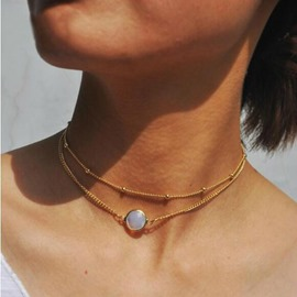 Ericdress Fashionable Double Layer Women's Choker Necklace