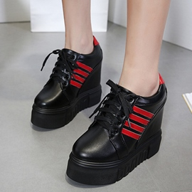 Ericdress Color Block Platform Low-Cut Women's Sneakers