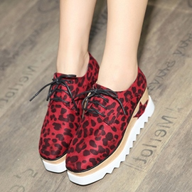 Ericdress Fashionable Leopard Platform Women's Sneakers