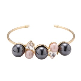 Accshine Hot Black Pearl Opening Bracelet for Women