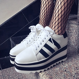 Ericdress New Arrival Square Toe Platform Women's Sneakers