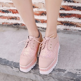 Ericdress Sequin Platform Plain Women's Sneakers