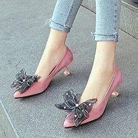 Ericdress Rhinestone All Match Stiletto Heel Pumps