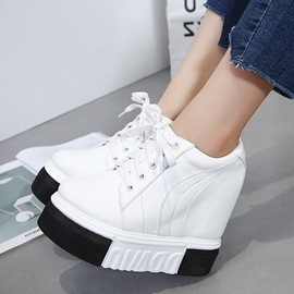 Ericdress Round Toe Platform Plain Women's Sneakers