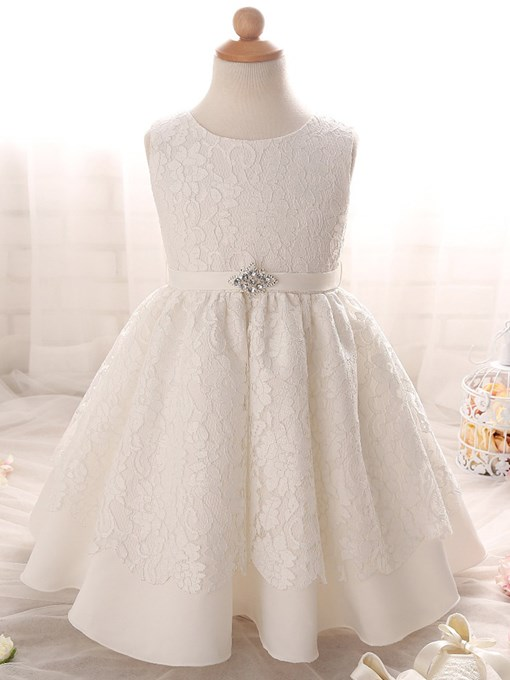 Ericdress Jewel Ball Gown Lace Christening Gown