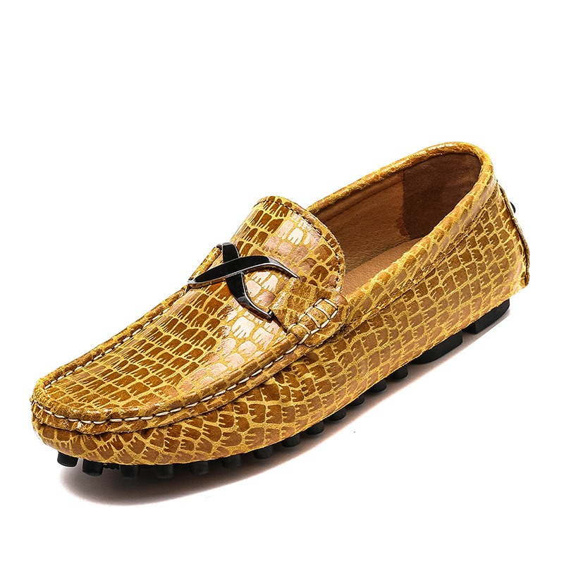 Ericdress Fashion Slip-On Plain Mens Moccasin-Gommino
