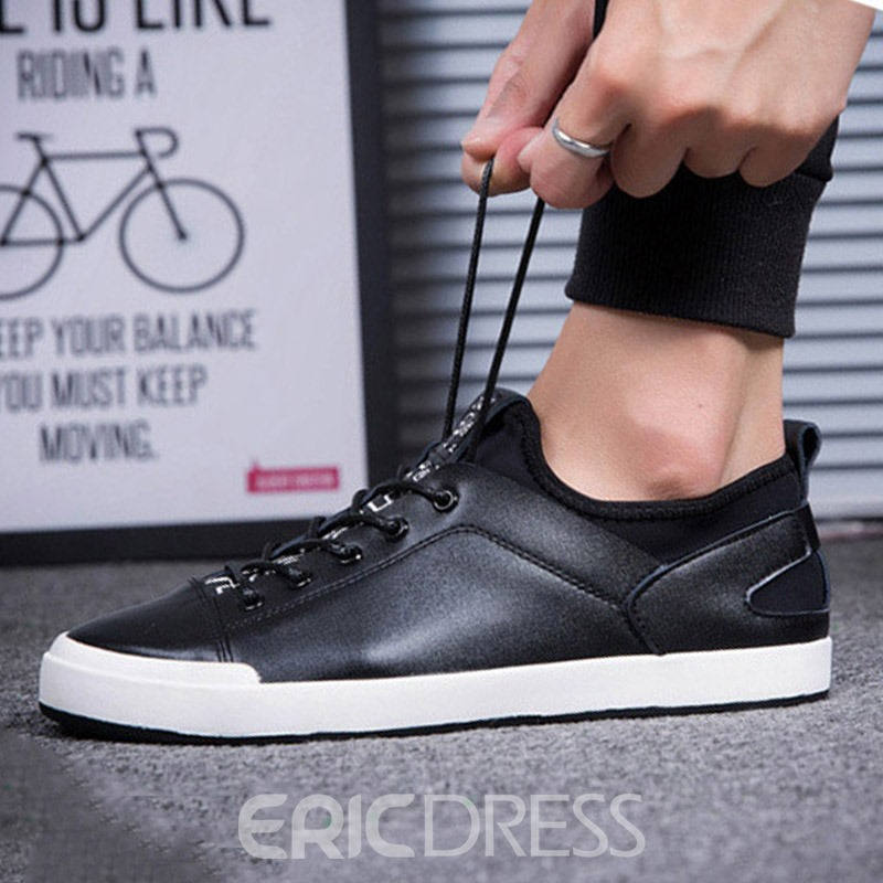 Ericdress Fashionable British Color Block Low-Cut Men's Sneakers