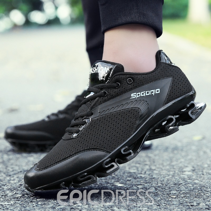 Ericdress Mesh Letter Patchwork Men's Athletic Shoes