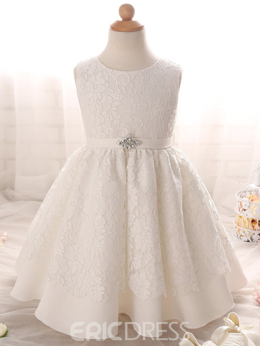 02f891b61 Ericdress Jewel Ball Gown Lace Christening Gown 12952425 - Ericdress.com
