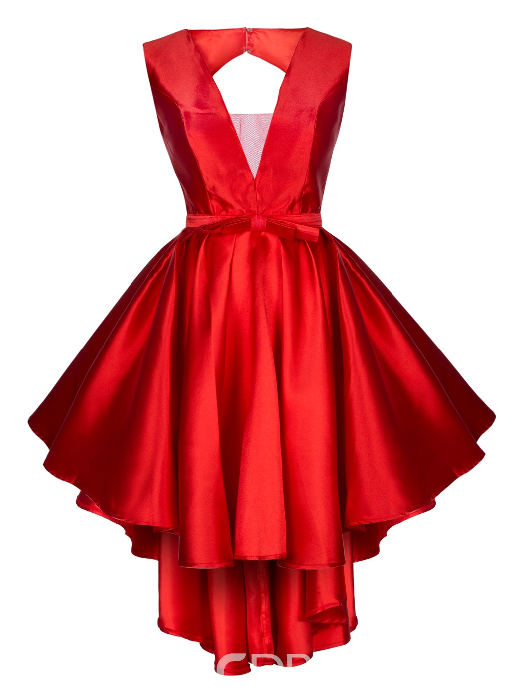 Ericdress v neck zipper-up bowknot une robe de bal en ligne