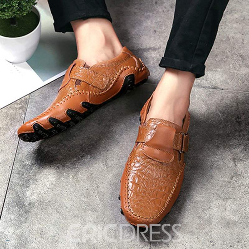 Ericdress All Match Slip-On Low-Cut Men's Loafers