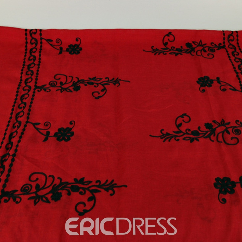 Ericdress Cotton Warm National Style Vintage Scarf