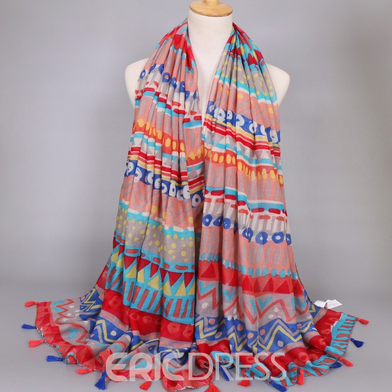 Ericdress Autumn&Winter Popular Cotton Scarf for Women
