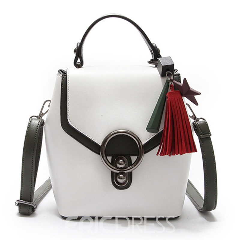 Ericdress Multi-Function Color Block Delicate Mini Backpack