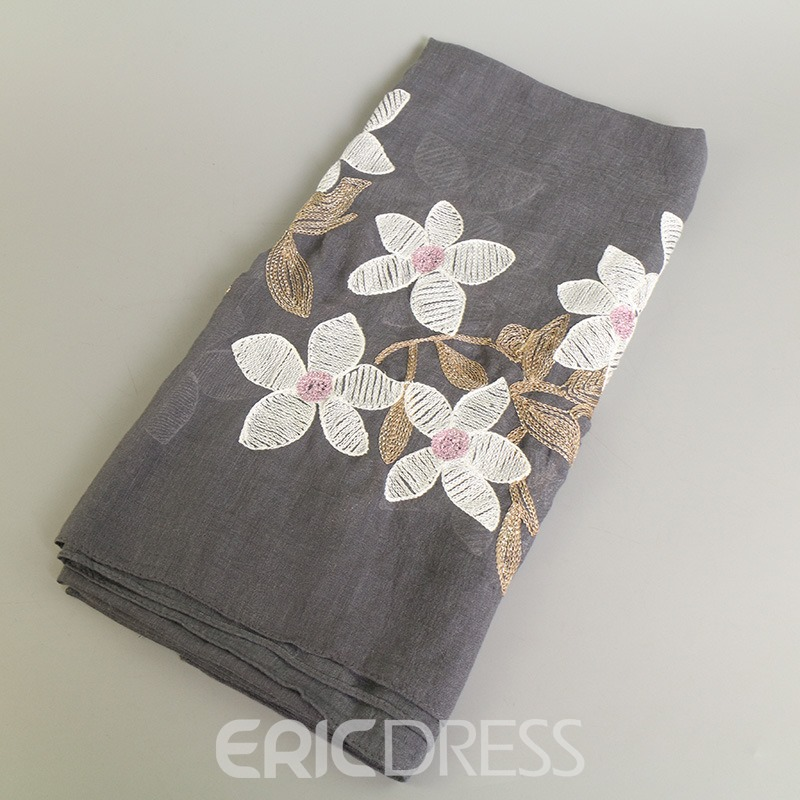 Ericdress Lily Printed Vintage National Style Scarf for Women